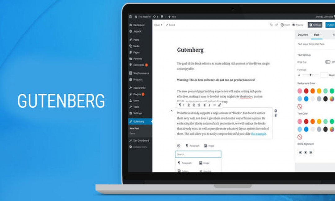 All That You Need To Know About The Gutenberg WordPress Editor