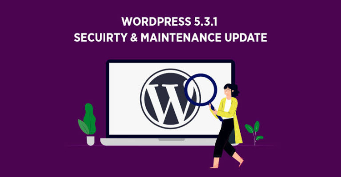 What New Security Changes WordPress 5.3.1 Release Bring?