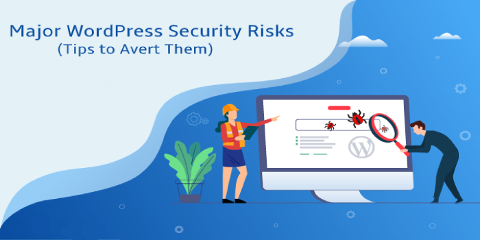 Major WordPress Security Risks and Tips to Avert Them