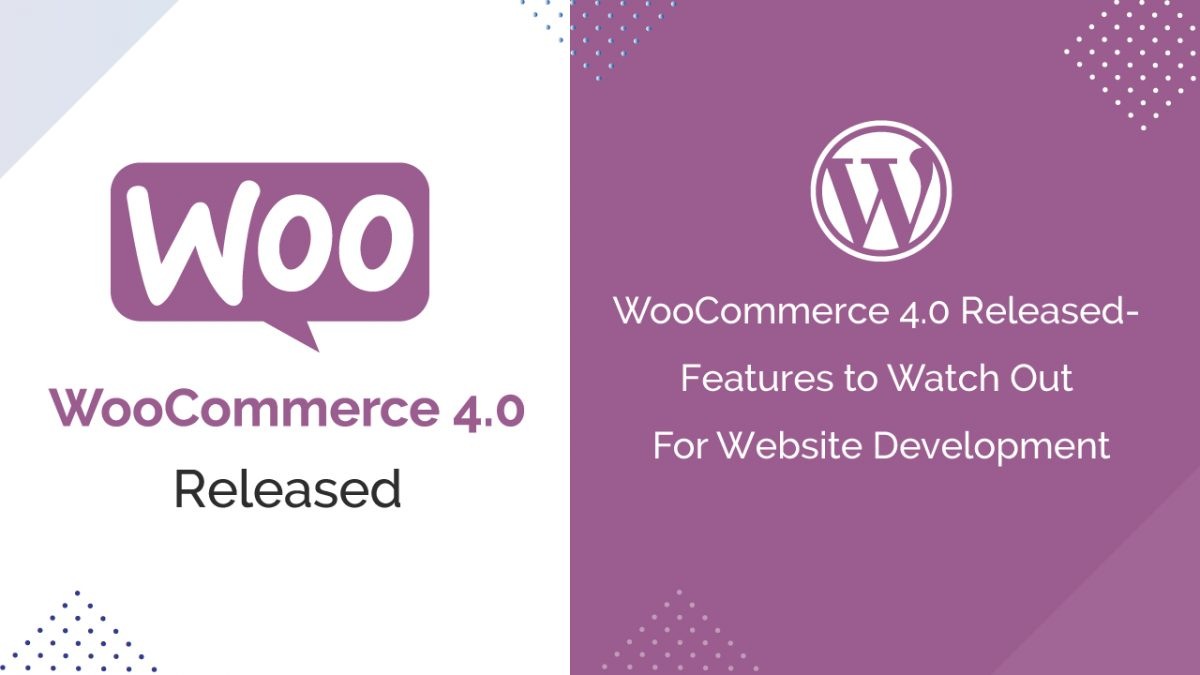 WooCommerce 4.0 Released- Features to Watch Out For Website Development
