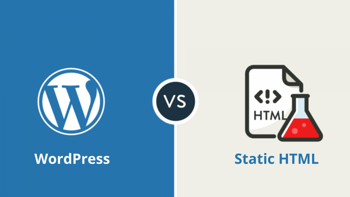 WordPress vs Static HTML