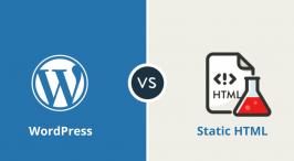 WordPress vs Static HTML