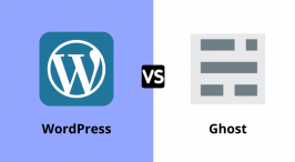 WordPress Vs Ghost
