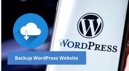Backup WordPress Website Using 3 Simple Steps