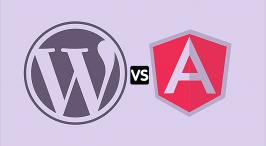 WordPress vs Angular